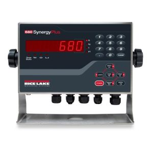 Rice Lake's configurable 680 Synergy Series indicator