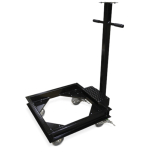 scale frame for rice lake caster port